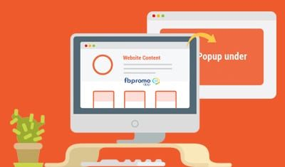 Add a pop-under plugin to your website, prompt your site visitors to participate in your campaigns and increase their chance of becoming a lead or customer.